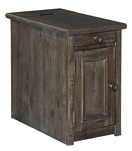 Signature Design by Ashley Wyndahl Chair Side End Table Rustic Brown