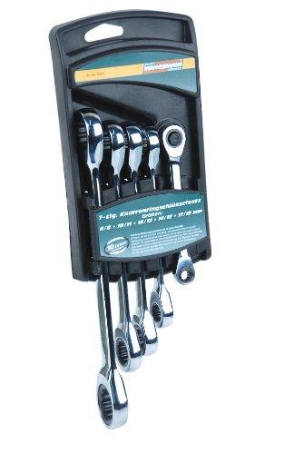 Mannesmann - M19828-5 piezas Juego de llaves de carraca
