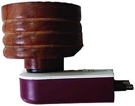 SUKHNIDHI Mini Wooden Electric Kapoor Dani Incense Burner Plug Camphor Aroma Diffuser Kapoor Burner for Home, Office.