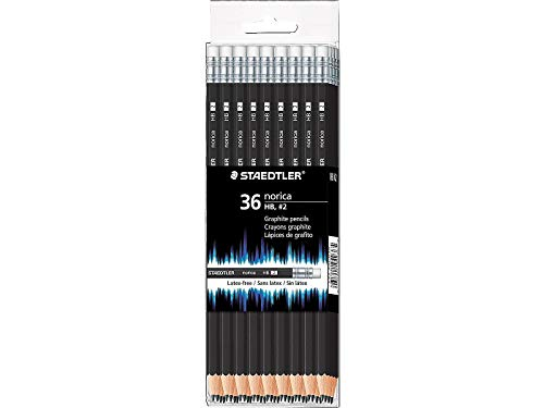 Staedtler Norica #2 HB Woodcased Pencils Black 36/Pack (1, A)