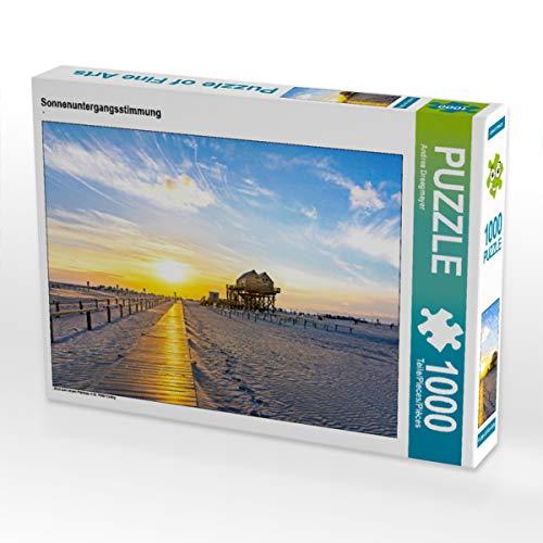 CALVENDO Puzzle Sonnenuntergangsstimmung 1000 Teile Lege-Größe 64 x 48 cm Foto-Puzzle Bild von Andrea Dreegmeyer