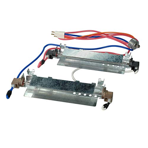 WR51X442 Refrigerator Defrost Heater Kit Replacement Part For GE, Hotpoint, Kenmore,Amana Refrigeratores Replaces EA303933,WR51X0342,WR51X0371,AP2071464,1972, AH303933