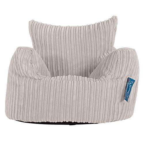 Lounge Pug®, Kindersessel Sitzsack, Sitzsack Kinder, Cord Creme