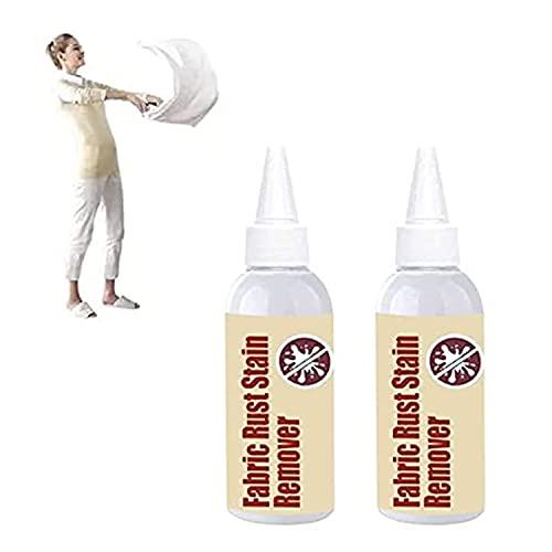 PETSBURG 80 ml de tela de óxido quitamanchas multiusos limpiador de ropa de gota Agente de limpieza de ropa, sin agua, herramienta de limpieza de ropa quitar agente