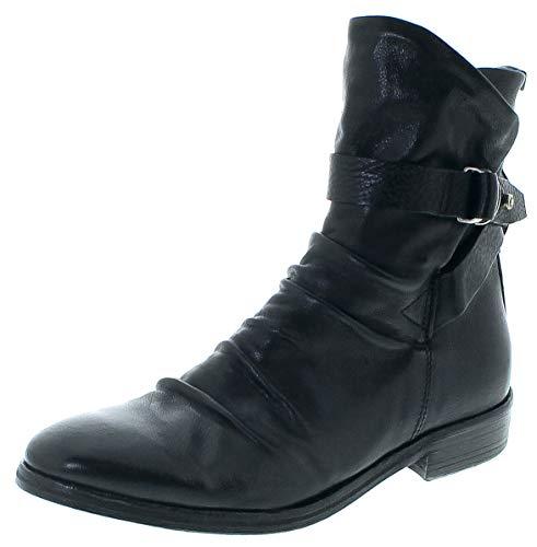 FB Fashion Boots A.S.98 Herren Stiefel 390208 Nero Lederstiefelette Airsteps 43 EU