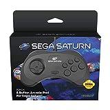 Retro-Bit Official SEGA Saturn Control Pad  Importaci  n inglesa