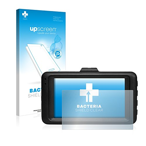 upscreen Pellicola Protettiva Antibatterica Compatibile con Medion E49018 Autokamera (MD 87935)...