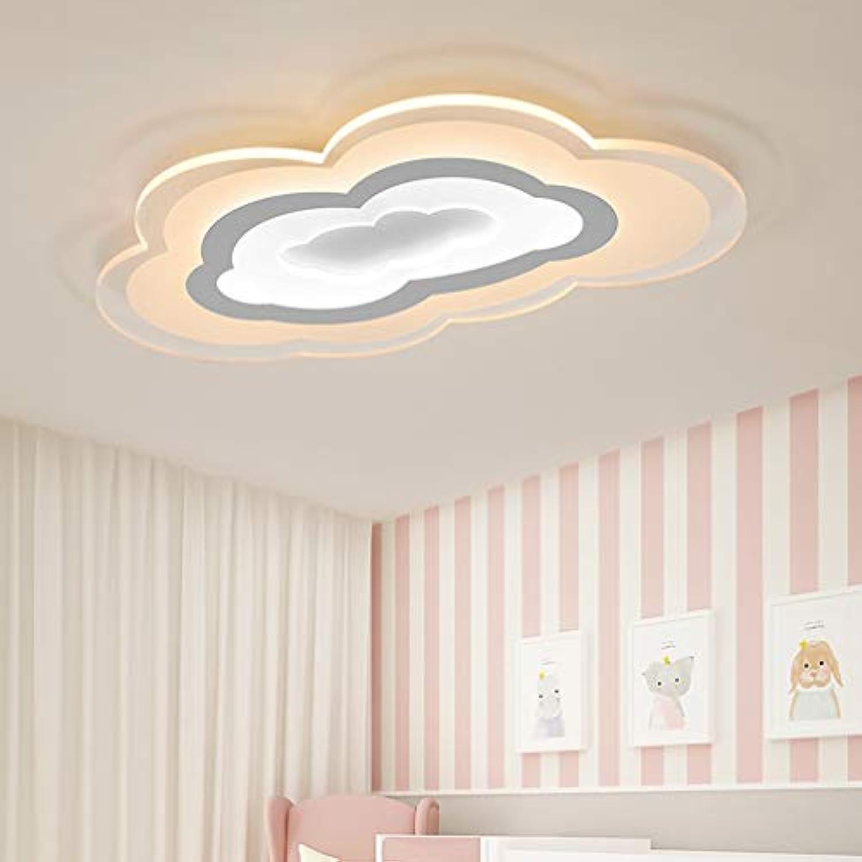 50W Kinderzimmerlampe Weiß Baby Lampe Wolken Lampe LED Kinderlampe Kinder Zimmer Deckenleuchte LED Kreative Wolken Deckenlampe Jungen Und Mdchen Schlafzimmer Lampe 60cm36cm, Dimmbar