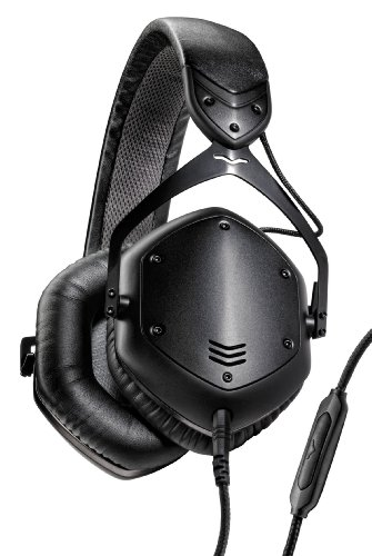 V-MODA Crossfade LP2 Vocal Limited Edition Over-Ear Noise-Isolating Metal Headphone - Matte Black