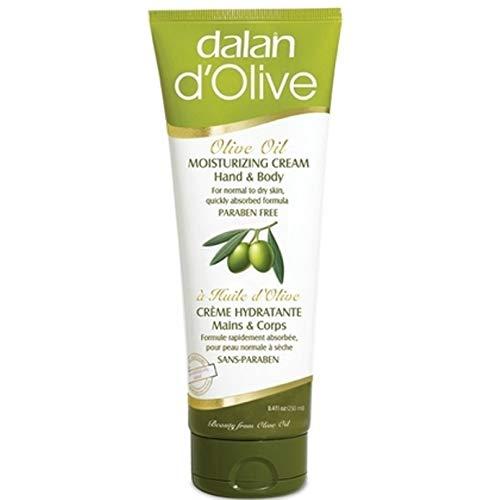 6 x Dalan d'Olive Hand & Körper Feuchtigkeitscreme für normale bis trockene Haut - 250 ml