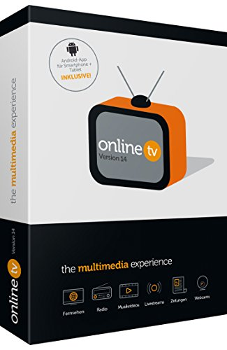 Online TV - Multimedia-Erlebnis|Online TV 14|1|ubegrenzt|PC - Laptop - Netbook - Smartphone - Tablet|Disc|Disc