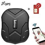 Traceur GPS Winnes GPS Tracker Suivi en Temps réel, Localiser pour Voiture,Moto,Camion, avec Application, Carte SIM Inclus (TK905)