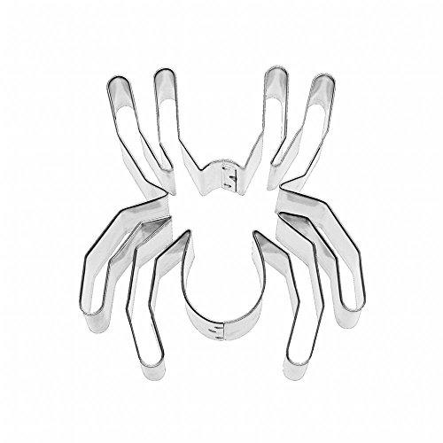 Birkmann 1010714310 Ausstechform Spinne 9 cm, Kunststoff, Grau, 5 x 3 x 2 cm