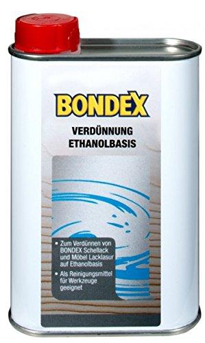 Bondex Verdünnung Ethanol Basis 0,25 l - 352896
