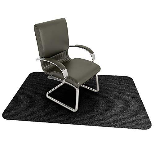 PICTURESQUE rutschfeste Und Verschleißfeste Stuhlunterlage | Bodenschutzmatte, Schwarz
