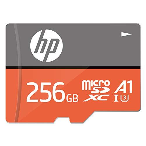 【Amazon.co.jp 限定】HP microSDXCカード 256GB オレンジ A1 UHS-I(U3) 4K Ultra HD対応 最大読出速度100M...