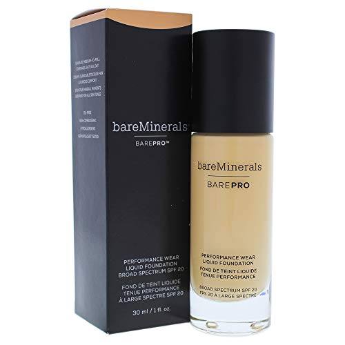bareMinerals Barepro Performance Wear Liquid Foundation SPF 20 - 17 Camel for Women 1 oz Foundation