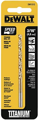 Bosch TI2133IM 3//32-Inch Impact Tough Titanium Drill Bit,
