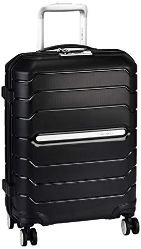SAMSONITE Octolite Polypropylene 55 cms Black Hardsided Cabin Luggage (SAM OCTOLITE Spinner 55 -Black)