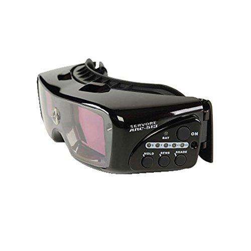 3. Gafas de soldar automáticas para TIG Servore