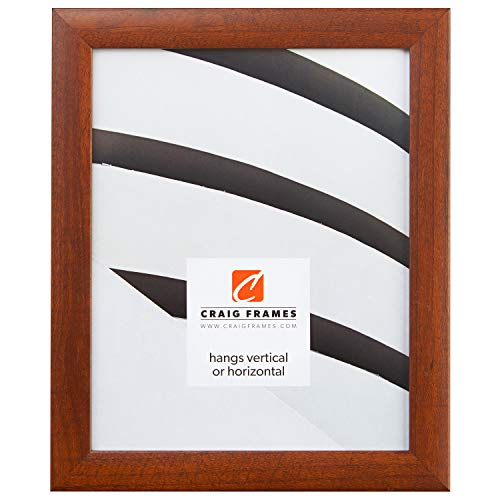 Craig Frames 23247616 18 x 24-Inch Picture Frame, Smooth Wood Grain Finish, 1-Inch Wide, Walnut
