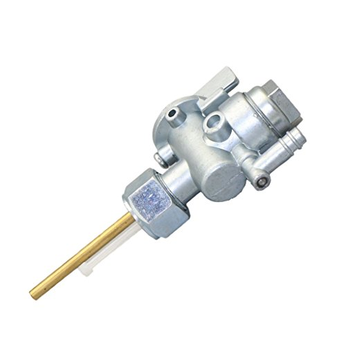 LHQ-HQ El conjunto de válvula del grifo de gasolina de combustible de repuesto Accesorios Compatible with Kawasaki C2TR G3 G4 G5 G31 KD80 Válvula