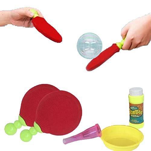 Bubble-Making Toys, juguetes para niños magic bubble suspension tenis de mesa raqueta bubble kid toy novedad, Bubble-Making Toys