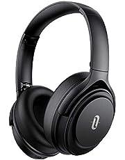 Noise Cancelling hoofdtelefoon TaoTronics Bluetooth 5.0 koptelefoon Over Ear [2020-versie] 40 uur Looptijd microfoon cVc 8.0 type-C snel opladen voor smartphones tablets laptops