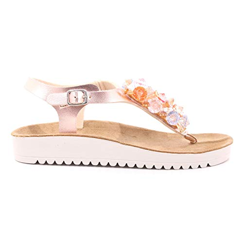 Grunland Sandalo Donna SA2525 70GREK Rosa Rosa 38 EU