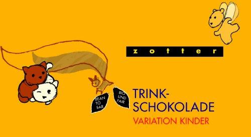 Zotter Variation Kinder (Honig-Zimt, Mango Lassi, Milch Kakao, Weiße mit Vanille, Zimt Banane), 1er Pack (1 x 110 g) - Bio