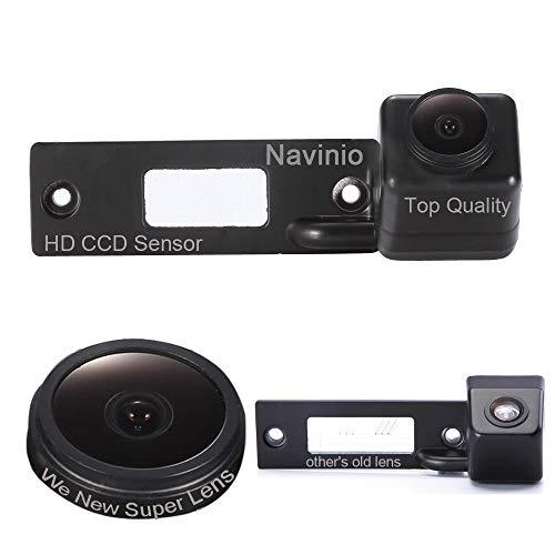 Navinio Super Pro Caméra de recul HD pour voiture avec aide au stationnement pour VW Caddy Passat B5 B6 3C Touran T5 Touareg Caravell Multivan Jetta Sagitar Golf Sharan Magotan Skoda Superb Polo Bora