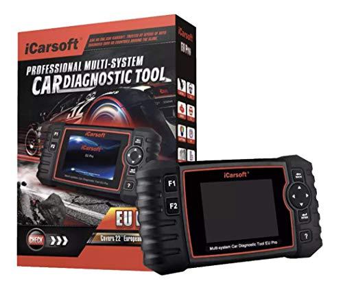 4- El maletín de diagnóstico de coche multimarca iCarsoft EU Pro