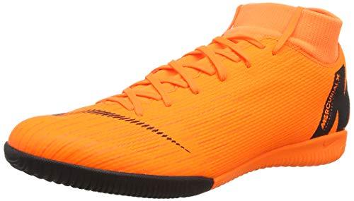 Nike Superflyx 6 Academy IC, Scarpe da Calcio Uomo, Nero (Black/Total Orange-W 081), 39 EU