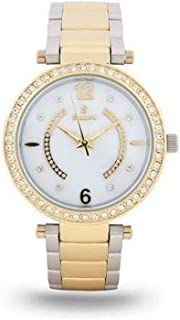 Sunex Women's Watch Analog Stainless Steel Teton Gold Dial S0352TW