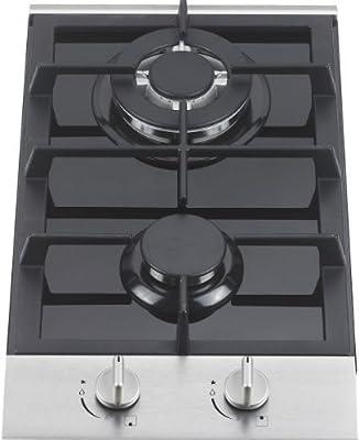 Ramblewood GC2-48P (LPG/Propane Gas) 2 burner gas cooktop, ETL Safety Certified.