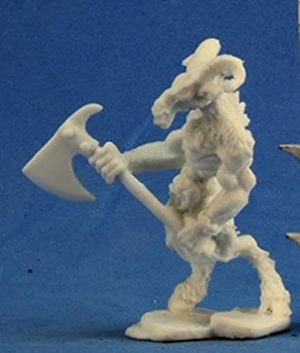 Bones Beastman Warrior 1 Miniature Reaper by Reaper