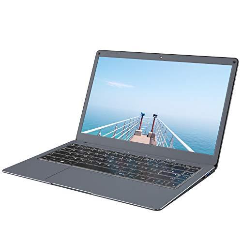 Jumper Laptop 13,3 Zoll 6GB 64GB Windows 10, Intel Celeron Dual Core, Unterstützt 128 GB Micro-SD und 1 TB SSD-Erweiterung, USB 3.0, Dual Band WiFi, 1080P FHD Notebook