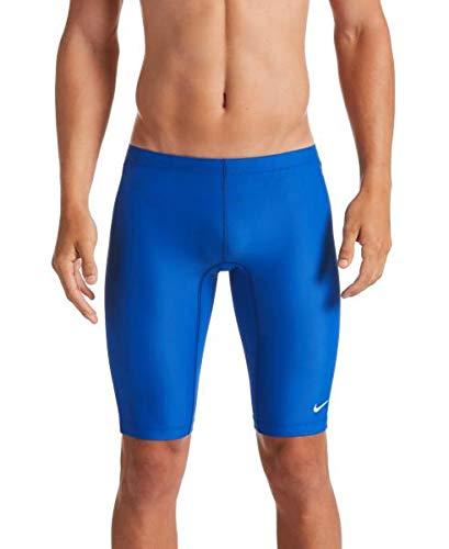Nike Swim Men s Solid Jammer, Game Royal, 38