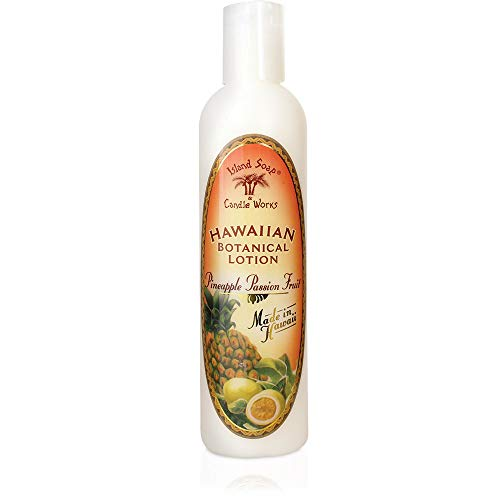 Island Soap & Candle Works Lotion, Pineapple Passion Fruit, 8.5 oz