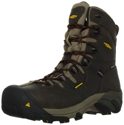 KEEN Utility Men's Detroit 8' Steel Toe Work Boot,Black...