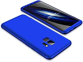 Samsung Galaxy S9 Case, ultra Slim Gkk 360 Protection Cover Case - Blue