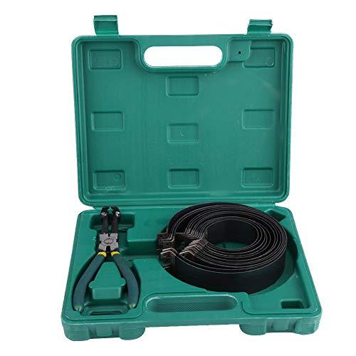 EBTOOLS Auto Motor Kolbenring Kompressor Zangensatz Reparaturwerkzeug Kit mit 14 stück kolbenringen und 1 stück zange zur Zylindermontage