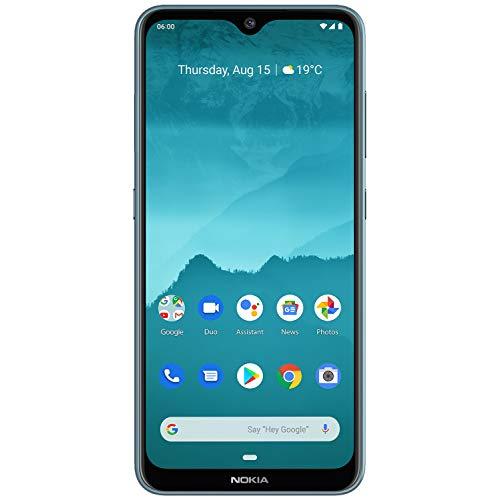 "Nokia 6.2-4GB / 64GB Ice - Dual Sim - 3500 mAh (6.3"") 1080 x 2280 Pixel, Qualcomm Snapdragon, 16 MP, Android 9.0, Ghiaccio"