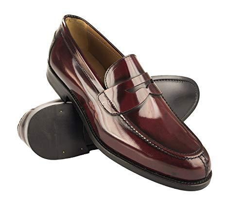 pequeño y compacto Zapatos de hombre Zerimar Castellano    Mocasines con máscara para hombre Mocasines con borlas para hombre  …