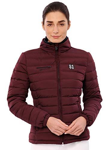 SPOOKS Damen Jacke, leichte Damenjacke mit Kragen, Herbstjacke - New Kira Lou Jacket Bordeaux l