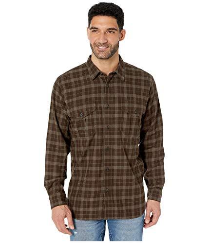 Filson Leichtes Alaskan Guide Baumwollhemd mit Knopfleiste für Herren - Beige - X-Klein
