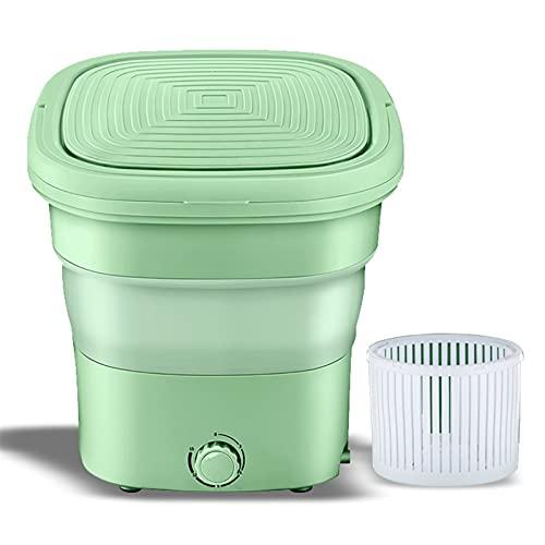 joyvio Mini Lavadora portátil, pequeña Lavadora de Cubos Plegable para Ropa, para Camping, caravanas, Viajes, Espacios pequeños, Plegable, Liviana y fácil de Llevar y almacenar