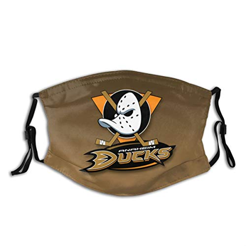 Anaheim-Fans-Duck Outdoor Mask,Protective 5-Layer Activated Carbon Filters Adult Men Women Bandana