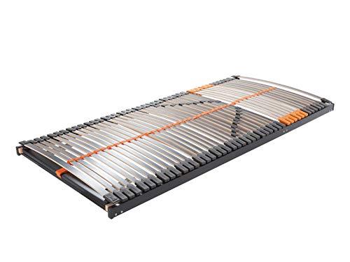 MFO Matratzen | Dream Flex KF 100x200 | An Kopf- und Fußteil Verstellbarer Lattenrost, fertig montiert