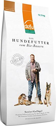 defu Hundetrockenfutter für ältere Hunde 12,5 kg, Hundefutter mit hohem Fleischanteil